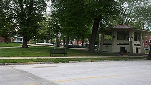 National Register of Historic Places listings in Marion County, Missouri - Image: Central Park Historic District 1
