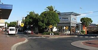Oakleigh, Victoria - Looking toward Centro Oakleigh Shopping Centre and Railway Station