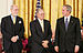 Cerf and Bob E. Kahn being awarded the Preside...