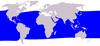 Cetacea range map Short-finned Pilot Whale