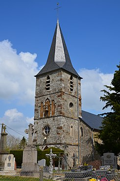 Chênedollé - Clocher Eglise Saint-Georges (1).JPG