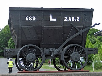 Chaldron - Image: Chaldron wagon, Beamish Museum, 17 May 2011