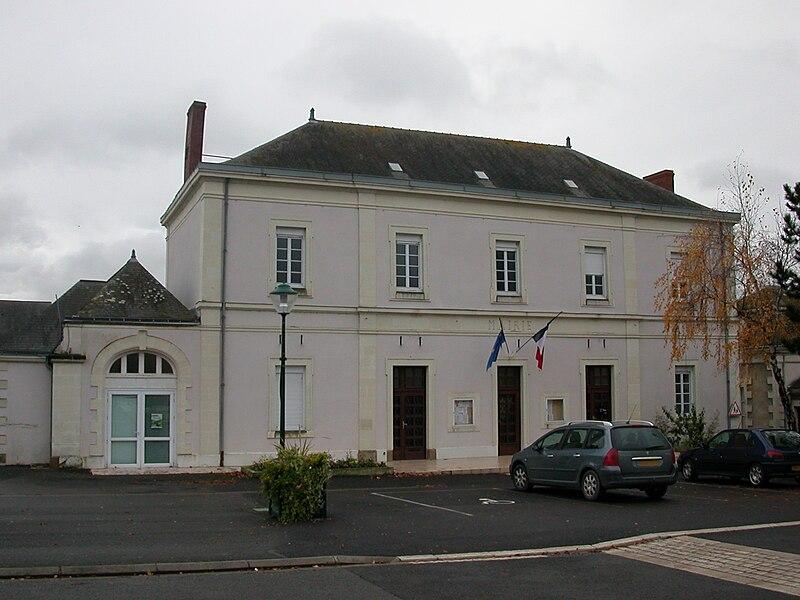 Town hall of Champtocé-sur-Loire