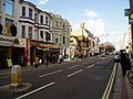 Chapel Road, Worthing looking north and featuring The Sir Timothy Shelley - geograph.org.uk - 626616.jpg