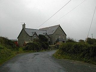 Penllech village in United Kingdom