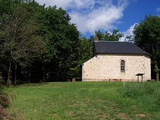 Château-Chinon (Campagne) - The chapel in Château-Chinon