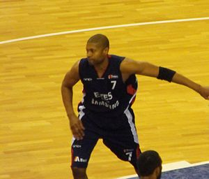 Charles Smith (basketball, born 1975) - Smith playing with Efes Pilsen in December, 2009.