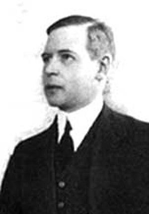 Charles Sydney Gibbes - Charles Sydney Gibbes in 1916