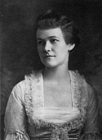 """Life Studies - Lowell's mother, Charlotte Winslow Lowell, in 1915. Along with Lowell's father and grandfather, she is a central subject in Life Studies, specifically in the poems """"Sailing Home From Rapallo"""" and """"Commander Lowell"""" as well as the prose piece """"91 Revere Street."""""""