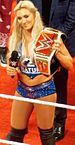Charlotte as the WWE Women's Champion Raw April 2016.jpg