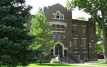 Chase County, Nebraska courthouse from SE 2.JPG
