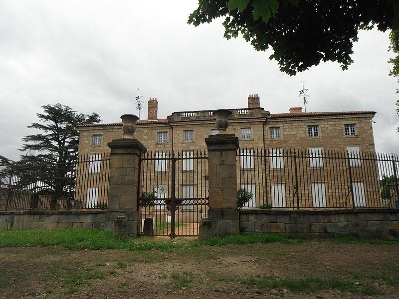 Château des Bruneaux, façade ouest