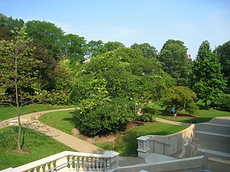 Squirrel Hill (Pittsburgh) - Chatham University Arboretum, located in the north of Squirrel Hill
