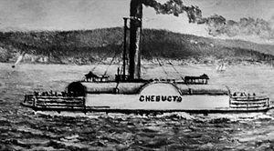 Chebucto (ferry) - Image: Chebucto in 1870s