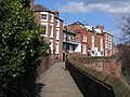 Chester's City Walls - Bridgegate to Eastgate ^6 - geograph.org.uk - 372290.jpg