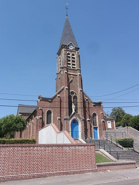 Chevresis-Monceau (Aisne) église