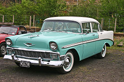 Chevrolet Bel Air 4-Door Sedan (1956)