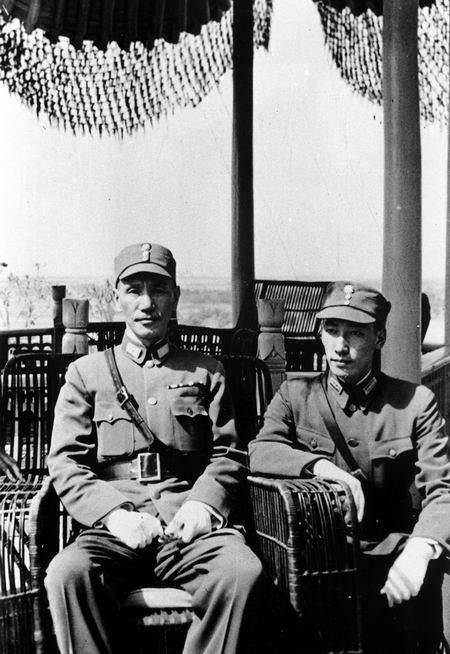 Chiang Kai-shek and Chiang Wei-kuo