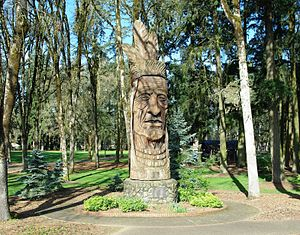 Hillsboro, Oregon - Shute Park sculpture