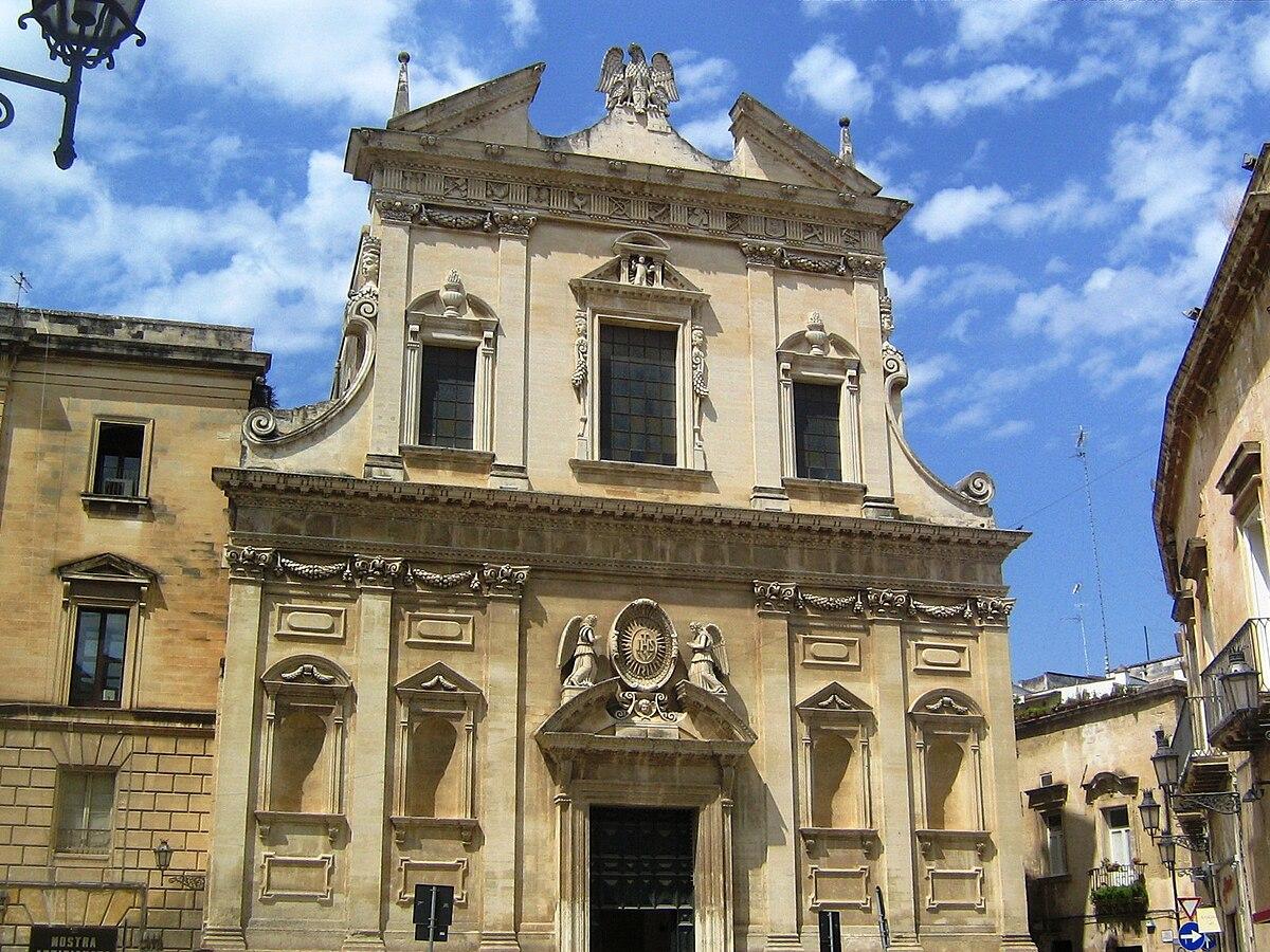 Risultati immagini per Chiesa del Gesù Lecce