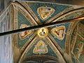 Chiesa di santa croce, cappella rinuccini, affreschi di giovanni da milano 3.JPG