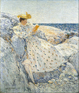 Childe Hassam - Summer Sunlight (Isles of Shoals) - Google Art Project