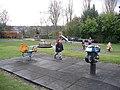 Children's Play Area, Wharton Park - geograph.org.uk - 763935.jpg