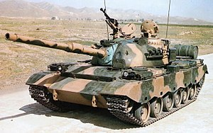 Type 80/88 main battle tank - Type 80 with 105mm rifled gun