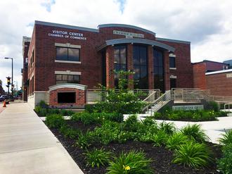 Chippewa Falls, Wisconsin - Chippewa Falls Chamber Building Downtown