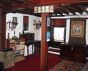 Chittadhar Hridaya - Hridaya's room at the memorial museum.