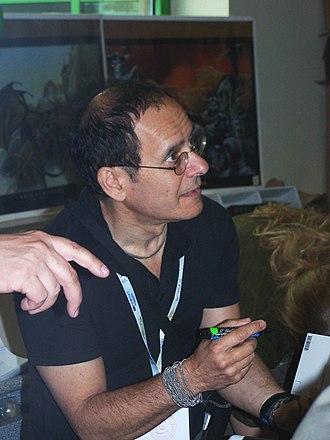 Chris Achilleos - Chris Achilleos on Polcon 2007