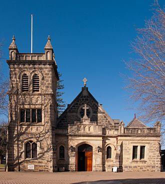 Claremont, Western Australia - Christ Church, Claremont. Built 1892.