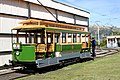 Christchurch Stephenson Tram No 1 turning.jpg