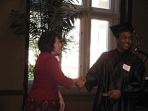 Christopher Massey - Massey graduating High School in June 2008
