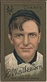 Christopher Mathewson, New York Giants, baseball card portrait LCCN2008677495.jpg