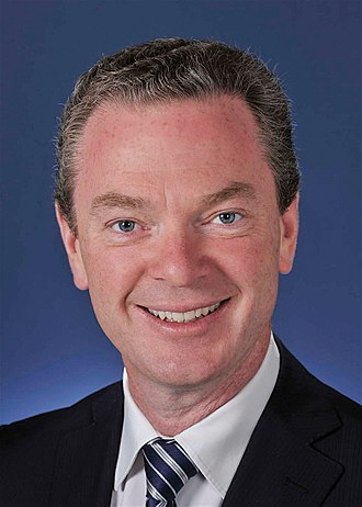 Minister for Defence (Australia) - Image: Christopher Pyne MP