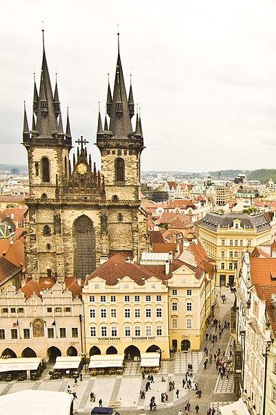 Eglise Notre Dame de Tyn à Prague