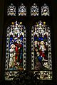 Church of St Mary Magdalen Laver Essex England - 1879 stained glass window.jpg