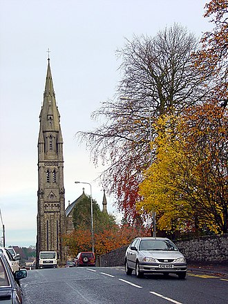 Dungannon - Image: Church of St Patrick, Dungannon geograph.org.uk 112576