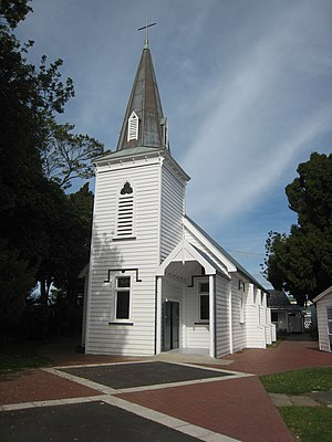 Völkner incident - Church of St Stephen the Martyr at Opotiki