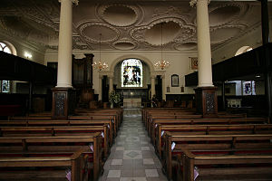 Royal Tunbridge Wells - The church of King Charles the Martyr