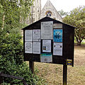 Church of the Holy Innocents, High Beach, Essex, England - sign notice board.jpg