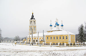 Sobinsky District - Church of the Theotokos of Kazan (Lakinsk), Sobinsky District