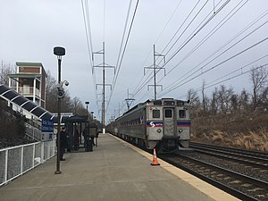 Churchmans Crossing SEPTA station March 2018.jpg
