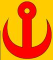 Cipészkés (heraldika) fr -- fer de cordonnier.PNG