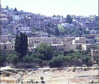 Shihab dynasty - The 12th-century Shihab Citadel in Hasbaya in Wadi al-Taym