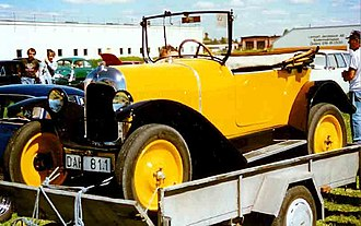 Citroën Type C - Image: Citroen 5 CV Typ C Torpedo 1922
