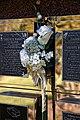 City of London Cemetery floral tribute memorial wall flute vase 2.jpg