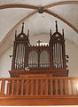 Civil hospice Luxembourg City (Pfaffenthal) - Church - Pipe organ 2015-07.jpg