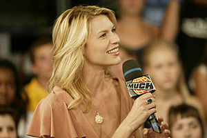 Claire Daines at MuchMusic, for the program Mu...